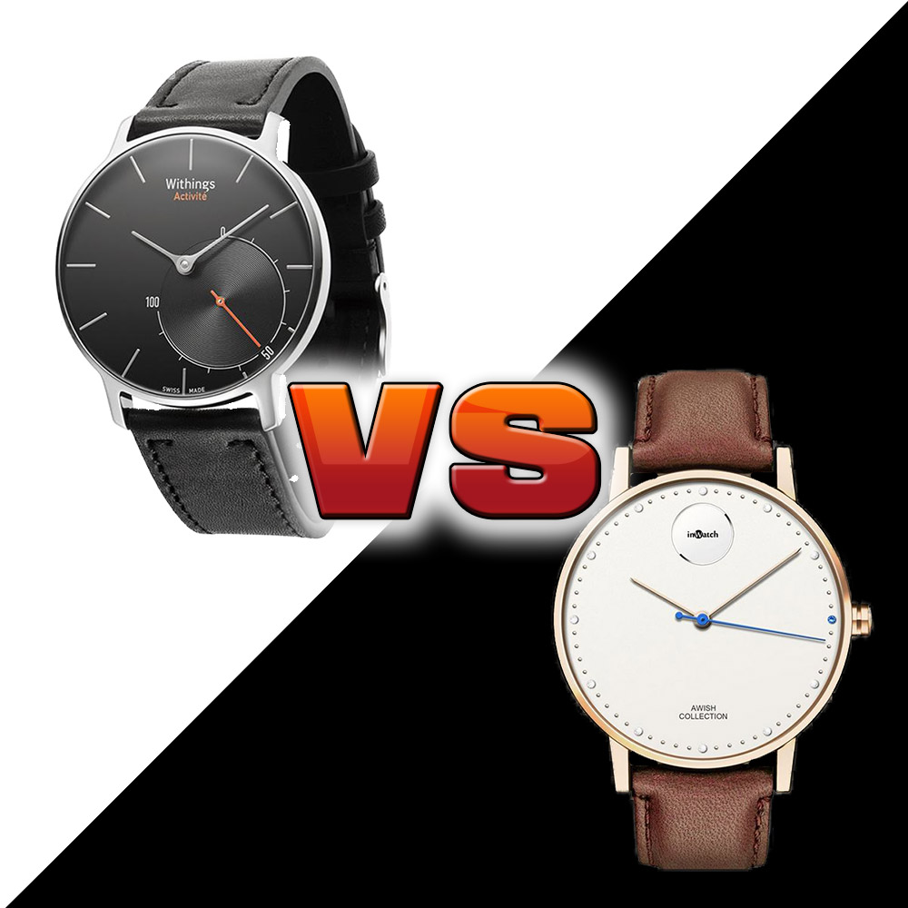 montre connect e aiguilles inwatch fusion vs withings activit. Black Bedroom Furniture Sets. Home Design Ideas