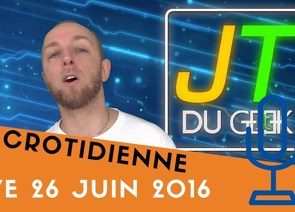 Accrotidienne live du 26 Juin