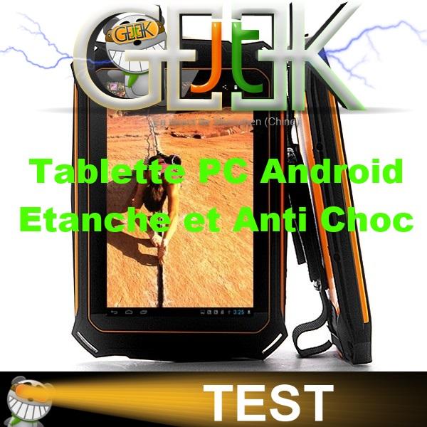 tablette pc android tanche et waterproof test vid o par glg. Black Bedroom Furniture Sets. Home Design Ideas