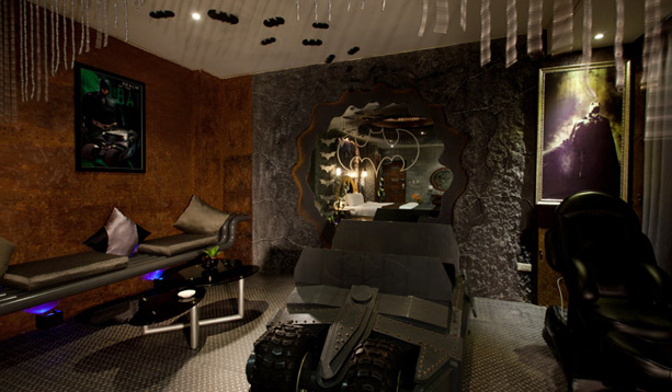 batmobile hotel taiwan