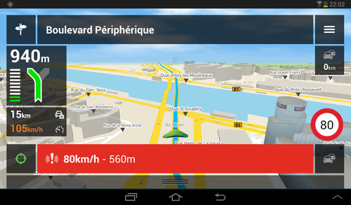 carte europe mappy gps android