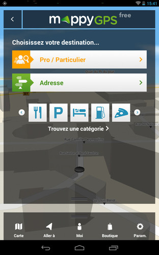 mappy gps free le gps complet et gratuit utilisable hors connexion. Black Bedroom Furniture Sets. Home Design Ideas