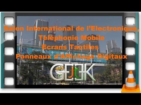 Salon international de l electronique t l phonie mobile - Salon international de l agroalimentaire ...