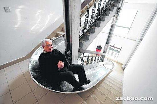 Toboggan immeuble for Toboggan escalier