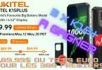 3 oukitel k15 plus à gagner , 6,52, id, nfc et batterie 10000mah avec super offre