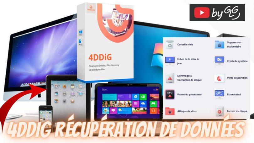 4ddig récupération de données, logiciel de récupération de données mac & windows simple et professionnel