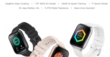 70mai Amoled Saphir Smartwatch Avec Alexa