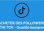 Acheter Follower Tiktok