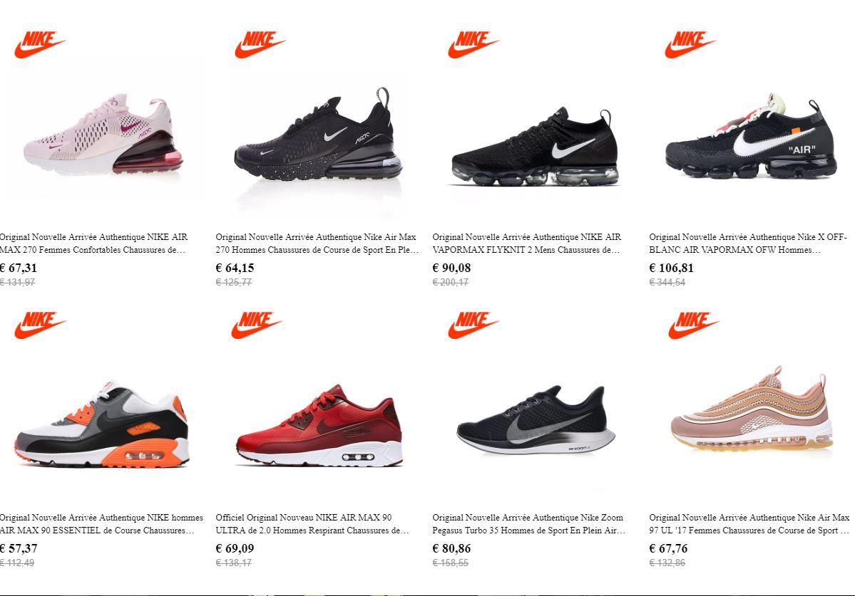 Acheter des Nikes et Adidas Directement en Chine via