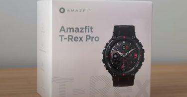 amazfit t rex pro unboxing