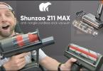 aspirateur balai sans fil anti enchevêtremen vraiment innovant,le shunzao z11 max surprend !