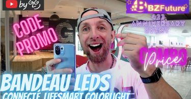 bandeaux leds connectée lifesmart colorlight strip bzfuture, il t'en faut un