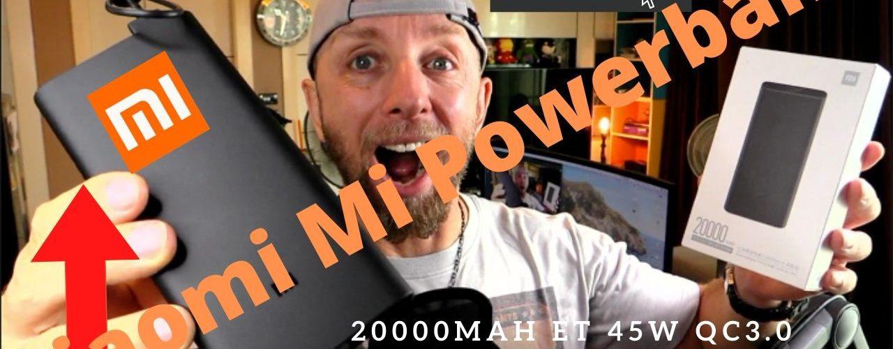 Batterie Xiaomi Mi Powerbank 20000mah