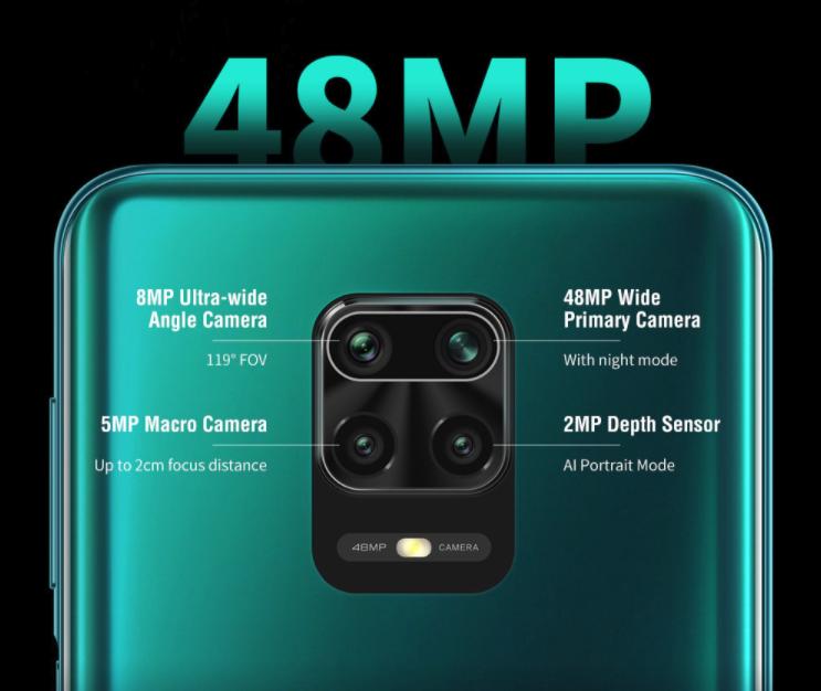 Caméra Redmi 9s