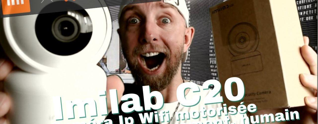 Camera Ip Wifi Imilab C20 Motorisé Avec Detection Mouvement