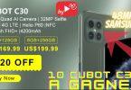 Cubot C30 À Gagner