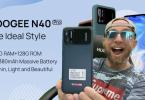 doogee n40 pro avec batterie 6380mah,16mp samsung et 20mp sony en mode séduction