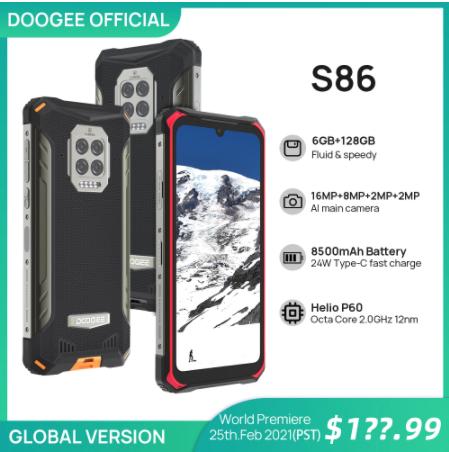 doogee s86 official
