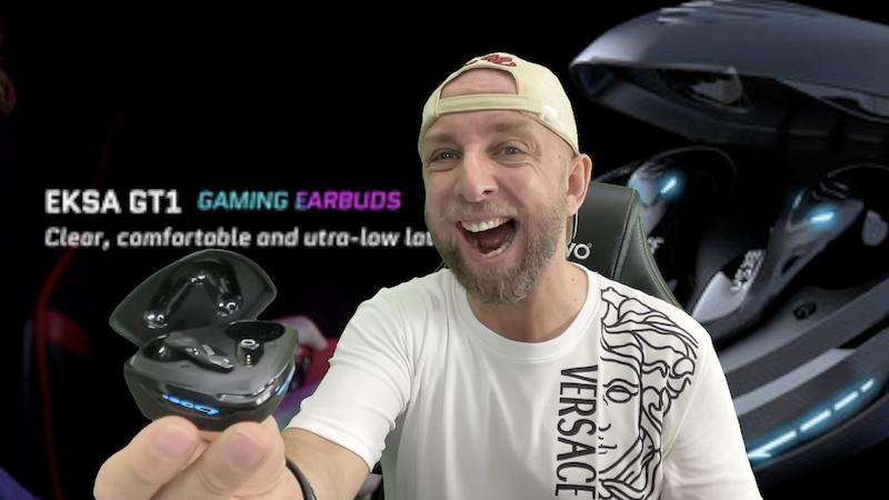 ecouteurs gaming cobra intra et sans fil eksa gt1