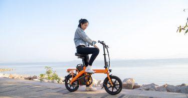 fiido foldable e bike l3 orange
