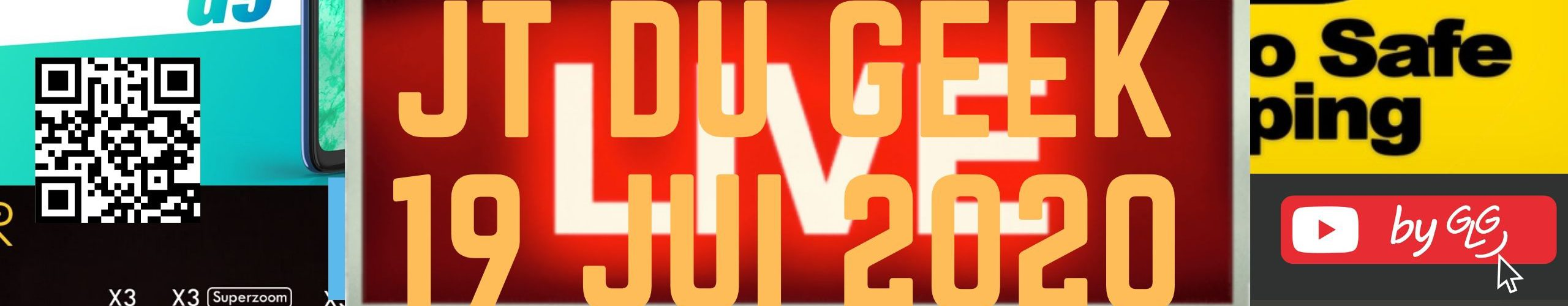 Glg Part En Live Jt Du Geek 19 Juillet