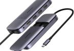 hub usb type c mac m1 avec ssd m.2, usb 3.1, hdmi, power delivery 100w pour macbook pro