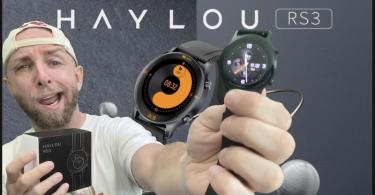 haylou rs3 ls04 youpin,montre connectée amoled et alu avec gps, bpm, spo2 et étanche 5atm