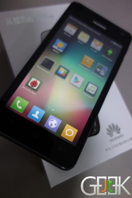 Huawei Honor 2 Francais