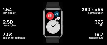Huawei Watch Fit Details