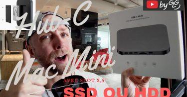 Hub Mac Mini Avec Slot 2,5 Pour Hdd Ou Sdd Qui Va Changer Ta Vie