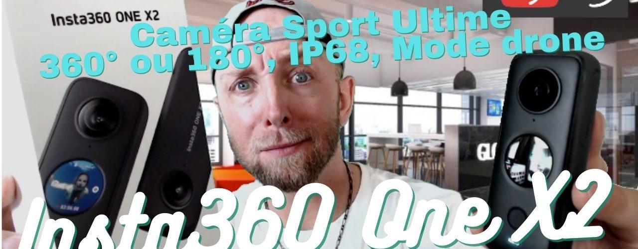 Insta360 One X2,pourquoi C'est La Meilleur Caméra Du Monent.