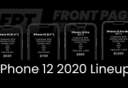 Iphone 12 2020 Lineup
