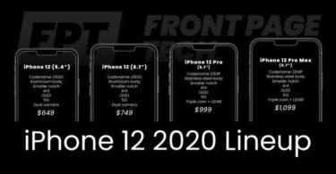 Iphone 12 2020 Lineup