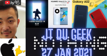 Jtdugeek 28 Jan Carl Pei Lance Nothing,redmi Note 10,samsung Galaxy A02, Huawei Mate 40e, Apple Quite La Chine