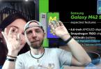 jtdugeek, redmi k40 gaming, vivo v21 44mp selfie, samsung m42, zte axon 3, live dimanche