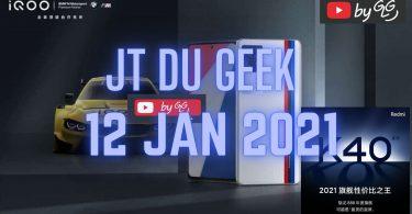 Jtdugeek 12 Jan, Honor Magicbook 2021, Navigateur Huawei Et Hms Pour Pc ,vivo Iqoo 7, Redmi K40 Mediatek ,prix Redmi K40 Pro Sd 888