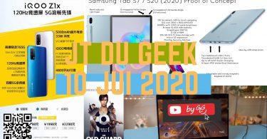 Jt Du Geek Zap Actu High Tech 10 Juillet