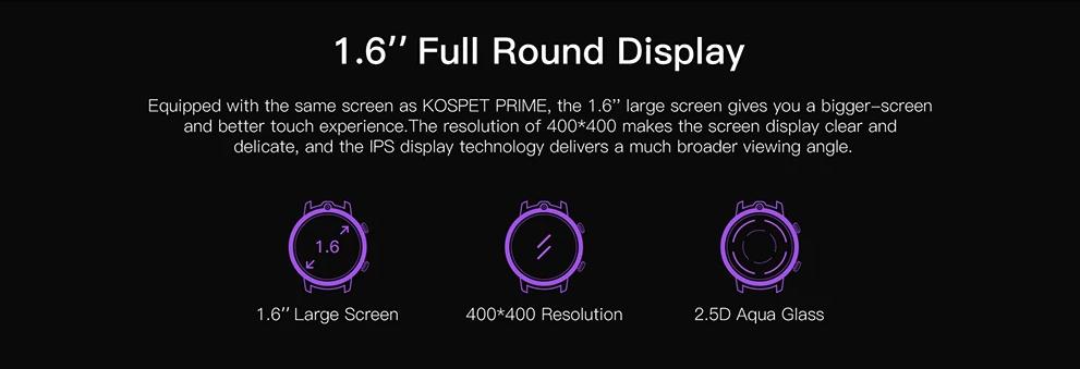 Kospet Power Screen