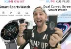 kumi gw16t ou ku2 plus, mes 2 montres connectée revelations de l'année en mode love.