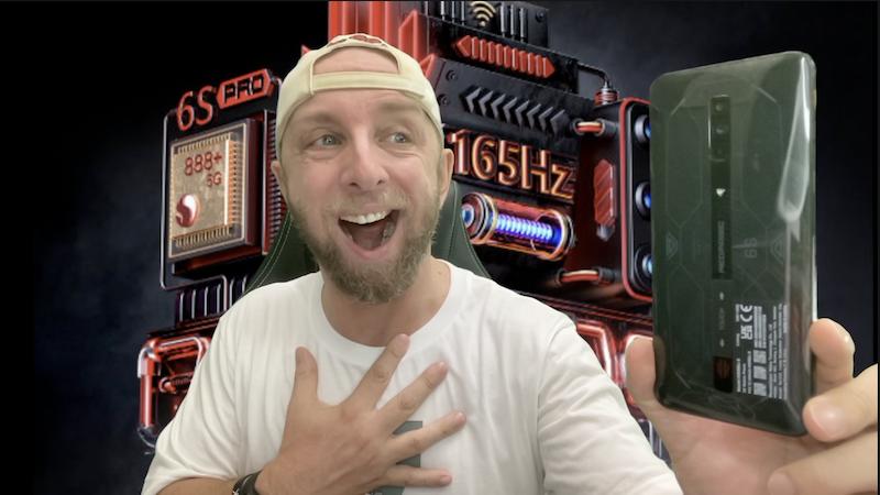 le smartphone gaming ultime avec le nubia redmagic 6s pro review