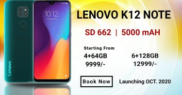 Lenovo K12 Note