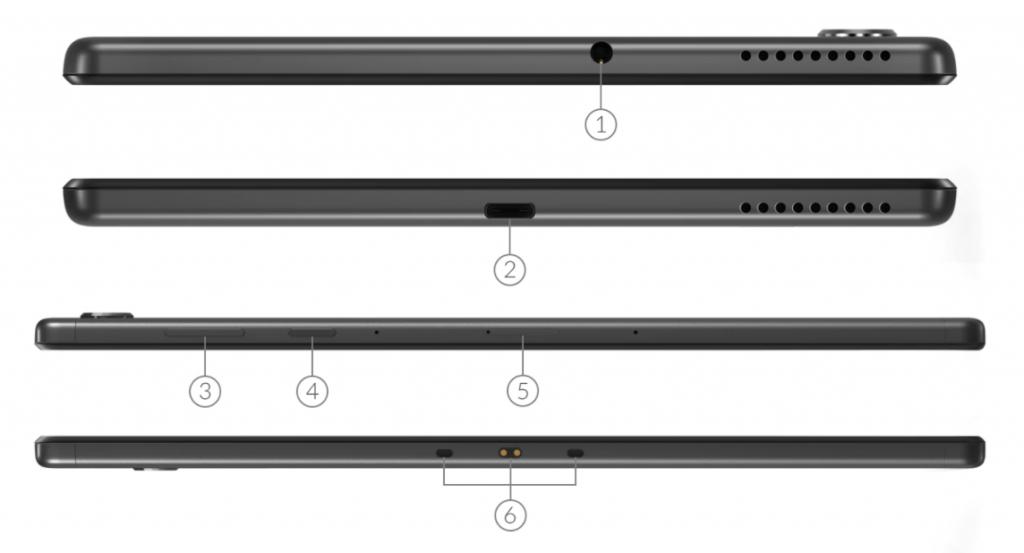 Lenovo Smart Tab M10 Fhd Plus Design