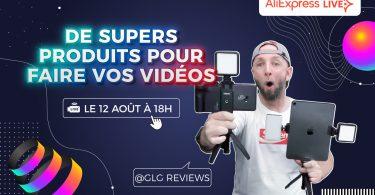 live aliexpress glg 12 aout