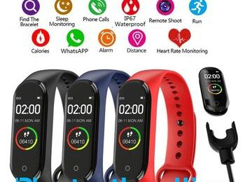 M5 Band Smartband M5 Smart Bracelet Sports Bracelet Heart Rate Blood Pressure Oxygen Reminder Wristbands Smart.jpg 350x350