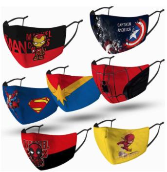 Masque Cosplay Super Hero