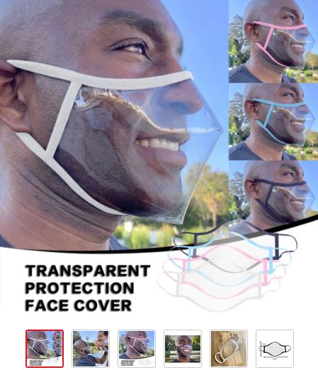 Masque Facial Souple Unisexe