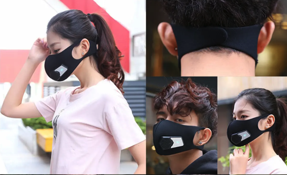 Masque Protection N95 Avec Filtre Electrique