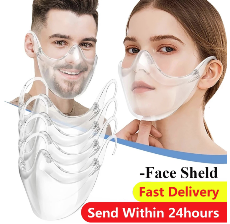 Masque Transparent De Protection Faciale