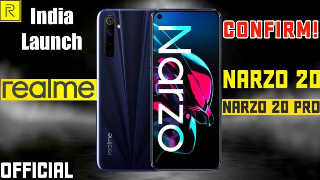 Narzo 20, 20 Pro, 20a