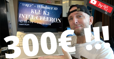 Notebook Windows 14,1 Kuu K30 Intel Pour 300€